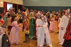 Víkendový program rozesel po Táborsku celou řadu dětských karnevalů.
