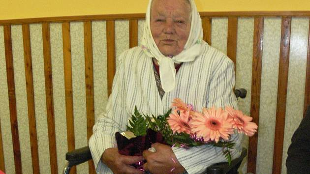Anna Brožková z Dlouhé Lhoty