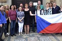 Profesoři z osmi partnerských států.
