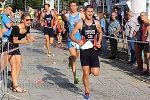 Triatlonový podnik v Táboře si u diváků i sportovců vydobyl výraznou prestiž.