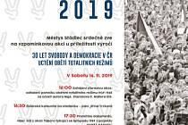 Výročí sametové revoluci ve Stádlci.