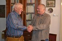 Herbert Schenk a Karel Bican.