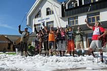 Členové horské služby se vydali na pravidelné prověřovací cvičení a překvapili v pátek 28. srpna řidiče v Plané nad Lužnicí.