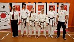 Výprava Karate-P-Klubu v pražských Štěrboholích.
