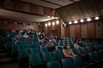 Kino v době epidemie. Ilustrační foto