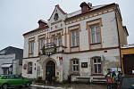 Radnice, v níž M. K. napadl starostu Vladimíra Maška sekerou a nožem.