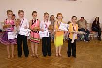 Kategorie Junioři I D standardní tance. První místo obsadil Daniel Skalka a Viktorie Lojdová. Druhé potom Matyáš Andreas a Adéla Koudelková. Třetí místo vybojoval Jan Stano a Zuzana Skalková.