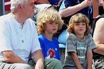 Špičková atletika přilákala na stadion příznivce všech věkových kategorií. A bylo se na co dívat!
