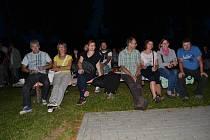 Letní kino v Bělči na Mladovožicku