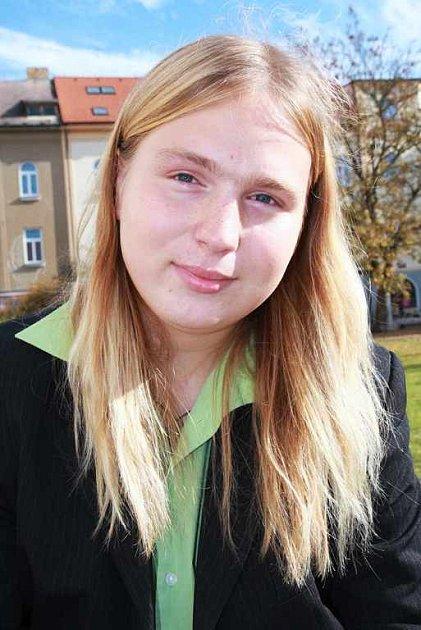 Nejmladší kandidát do krajských voleb na Táborsku David Jareš.
