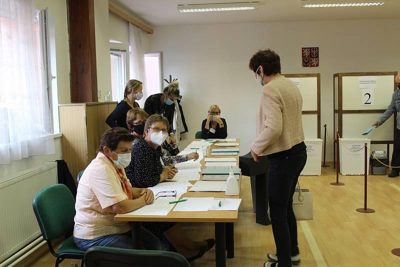 Krajské volby v Mladé Vožici.