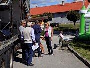 Sto let od vzniku Československé republiky oslavili ve Starém Sedle u Stádlce.