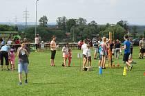 V sobotu odpoledne na fotbalovém hřišti v Košicích pořádal místní hasičský sbor Den dětí.