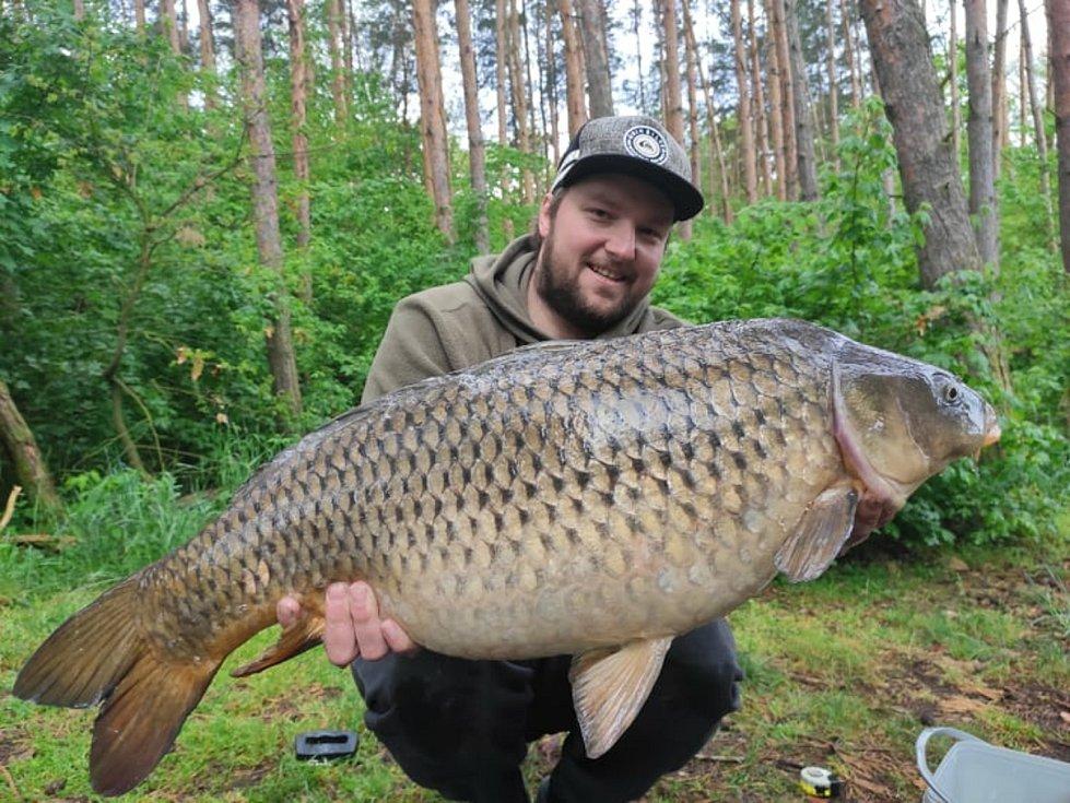 Skoro každý víkend vyráží na ryby Jan Přibyl ze Soběslavi.