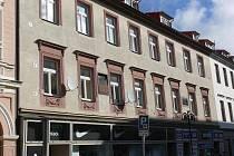 Dům č.p.355 z Palackého ulice v Táboře