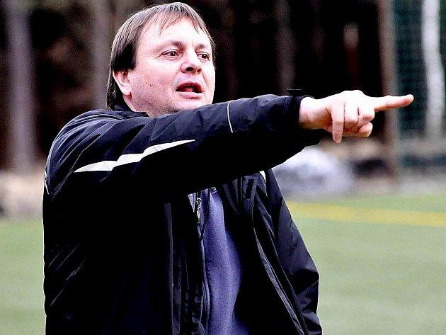 Trenér Milan Škarda.
