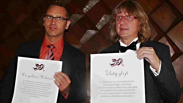 Starostové (zleva) Andreas Osner a Jiří Fišer.