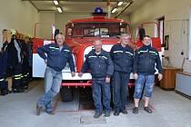 Návštěva hasičárny jistebnických dobrovolných hasičů.