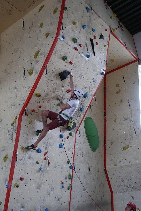 18. ročník krajské soutěže Hasičského záchranného sboru Jihočeského kraje v lezení na umělé stěně v roce 2019.