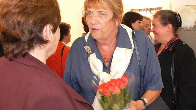 Malířka Helena Shooner Schmausová.
