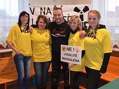 Lidé z Jistebnicka a okolí se i letos zúčastnili Dne proti úložišti. Foto: Pavla Nováková