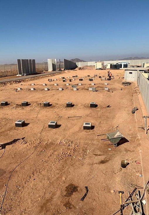 Z armádního nasazení na Sinaji.