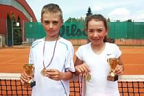 Erik Fáček a Denisa Vondráková.
