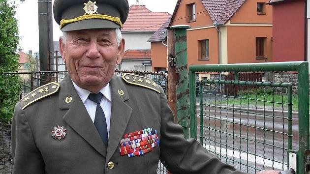 K výročí osvobození absolvoval Vasil Hajdur několik cest.