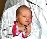 Nina Kaspříková z Opařan. Poprvé na svět pohlédla 12. listopadu sedm minut po sedmé hodině. Prvorozená dcera  rodičů Hany  a Martina vážila 2590 gramů a měřila 47 cm.