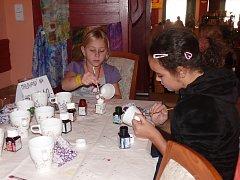 Na Kreativu vyráběly děti i jejich maminky