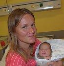 Anna Plocová z Miličína. Přišla na svět  10. června v 8.14 hodin. Vážila 3490 gramů, měřila 50 cm a už má doma sestřičky Terezku, které jsou čtyři roky a dvouletou  Karolínku.
