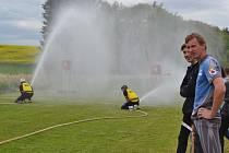 V sobotu ve Dvorcích začala Táborská hasičská liga.