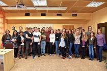 Studenty TSG navštívil Jáchym Topol.