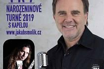 Jakub Smolík turné k 60. narozeninám.