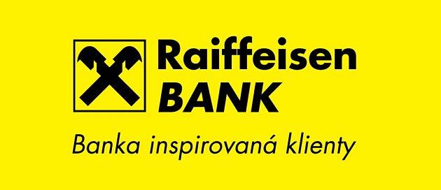 Logo Raifeisen bank.