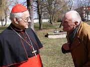 Pozdravit kardinála přišel i František Hroch z Měšic.