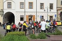 Tábor je rájem cyklistů.