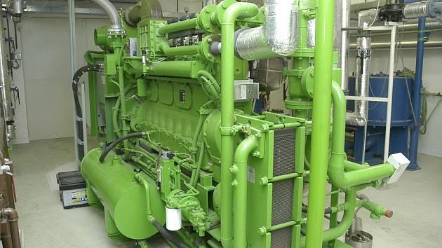 Ilustrační foto - výtopna využívající biomasy