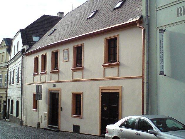 Historický objekt v táborské Klokotské ulici po rekonstrukci.