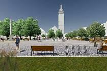 Na náměstí poblíž kašny by mohla stát nová fontánka. O jejím osudu budou Soběslavští ještě jednat. Zatím s ní územní rozhodnutí nepočítá.