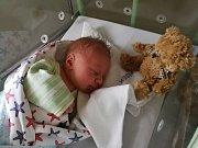 První letošní miminko na jihu Čech se narodilo v Písku. Jmenuje se Tomáš.