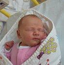 Valérie Fořtová z Tábora. Narodila se 29. dubna deset minut po druhé hodině. Vážila 3240 gramů, měřila rovných 50 cm a doma má dvouletou sestřičku Lauru.