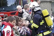 Den srdce a cvičný zásah hasičů v Chýnově