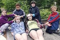 SOUTĚŽ MLADÝCH ZDRAVOTNÍKŮ. Český červený kříž Tábor uspořádal pro děti ze základních škol Soutěž mladých zdravotníků.