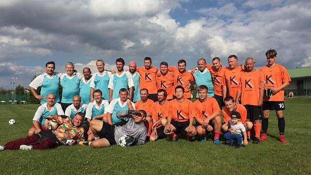 V Opařanech se vzpomínalo na úspěšná léta 2003/2004, kdy místní Slovan Opařany vybojoval zatím největší úspěch klubu, a to postup do 1.B třídy.