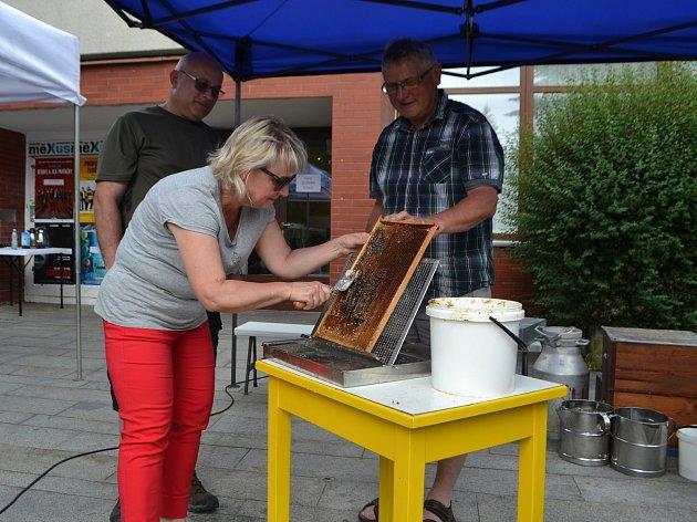 Včelařská výstava vyvrcholila v sobotu Medobraním.