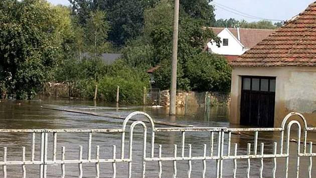 povodně Veselí nad Lužnicí