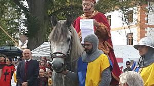 Svatý Václav slíbil opatrování Plané