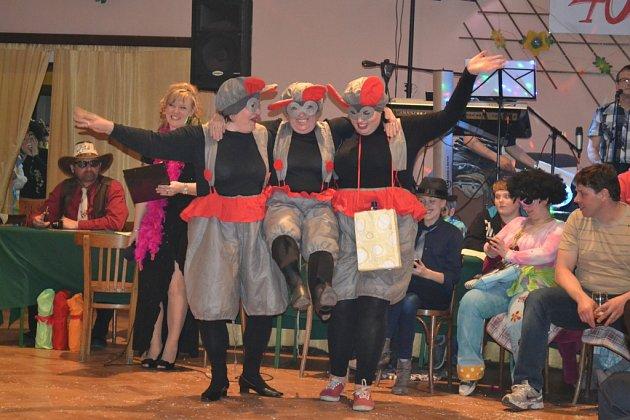 Padařovský maškarní ples oslavil v sobotu 28. února 40. výročí.