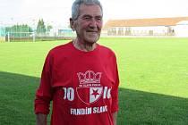 Petr Hejný z Roudné letos oslavil krásné 80. narozeniny, celý život sportoval, hrál fotbal a dodnes je velmi aktivní.